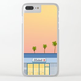 El Cochinito Storefront Clear iPhone Case