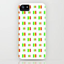 Flag of mali 5 - handmade iPhone Case