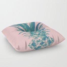 Blush Pineapple Dream #3 #tropical #fruit #decor #art #society6 Floor Pillow