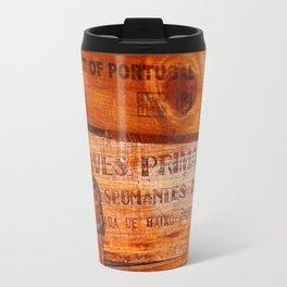 Wine crates Travel Mug