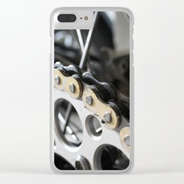Chains Clear iPhone Case