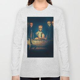 Alien Abduction Alien Autopsy Long Sleeve T-shirt