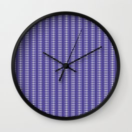 Moon Phases Pattern IV Wall Clock