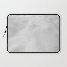Snowscape // High Resolution Snow Drift Close Up Landscape Photo Winter Vibes Laptop Sleeve