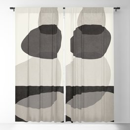 Abstract Shapes 23 Blackout Curtain