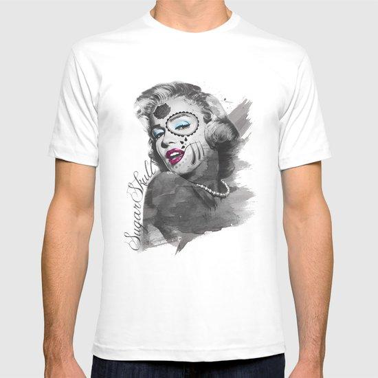 Sugar Skull-Marilyn Monroe T-shirt
