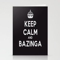 bazinga Stationery Cards featuring Bazinga by S.YassinPhotography