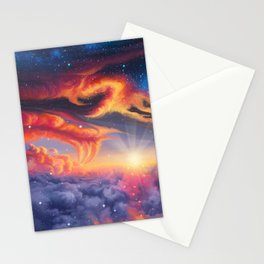 Eternal shining Stationery Cards