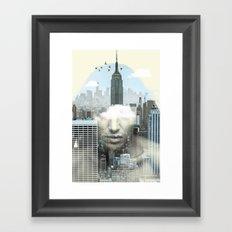New York City Shift Framed Art Print