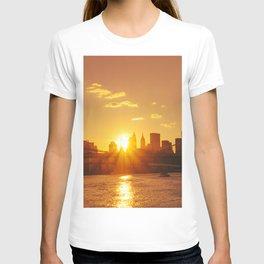 Sunset - New York City T-shirt