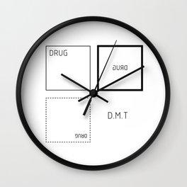 D.M.T Wall Clock