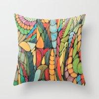wizard Throw Pillows featuring Wizard by Alamogordo