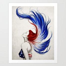.Liberty Art Print