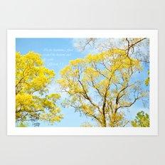 Heavens and Earth Art Print