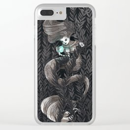 Kelp Witch Clear iPhone Case