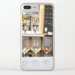 Wine Time in Santa Barbara, California Clear iPhone Case