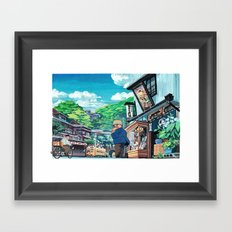 Cold in Yokohama 02 Framed Art Print