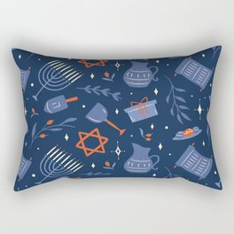 Hanukka Rectangular Pillow