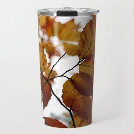 Beech Leaves Travel Mug