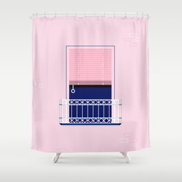 Window of Andalucia | 2 Shower Curtain