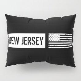 U.S. Flag: New Jersey Pillow Sham