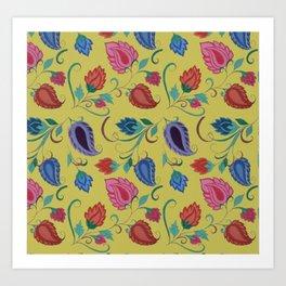Gorgeous Paisley's Art Print