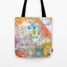 Collage de Mudra Tote Bag