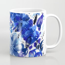 Blue flowers galore Coffee Mug