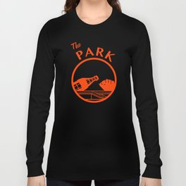 The Park (Orange) Long Sleeve T-shirt