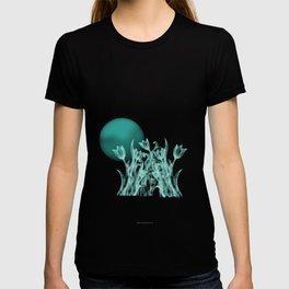 Silky moonlight flower T-shirt