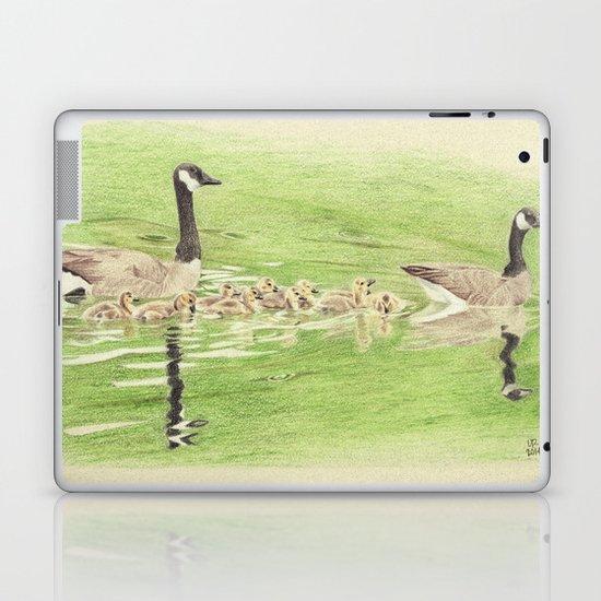 Goose Family Outing Laptop & iPad Skin