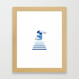 The kingdom of heaven Framed Art Print