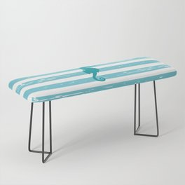 AFE Turquoise Seahorse Bench