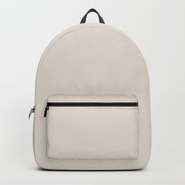 Neutral Light Tan Single Solid Color (One Hue) Pairs Sherwin Williams Shoji White SW 7042 Backpack