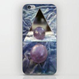 Crystal balls, Velvet, and Mirrors iPhone Skin