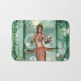 Wonderful mermaid Bath Mat