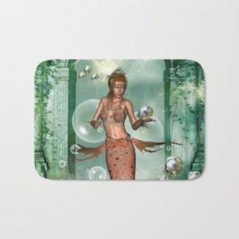 Wonderful mermaid Bath Mat