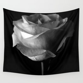 Dark Rose Wall Tapestry