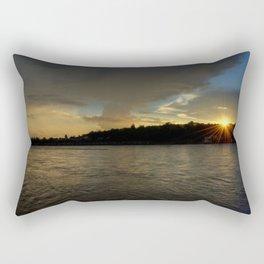 so let the light shine!  Rectangular Pillow