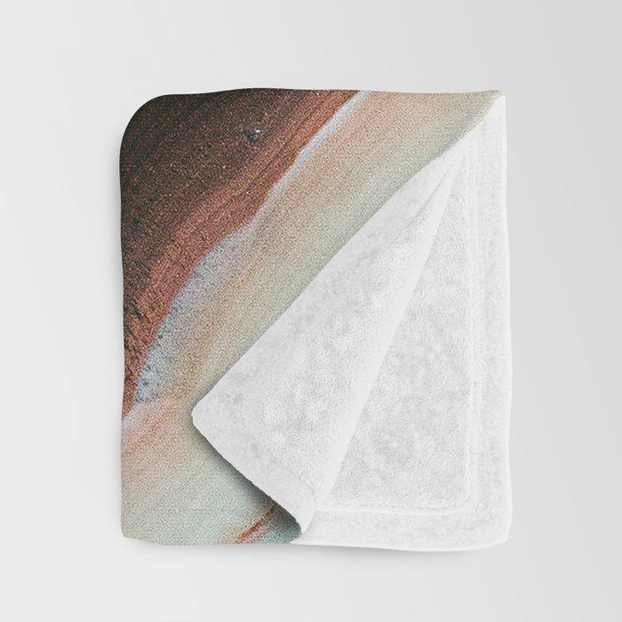 Pastel Onyx Marble Throw Blanket
