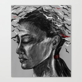 migrating thoughts Canvas Print