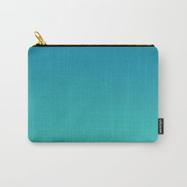 Mosaic Blue and Biscay Gradient Carry-All Pouch