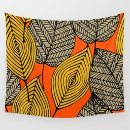 Leafy Wall Tapestry