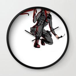 Lil Lexi Siege Wall Clock