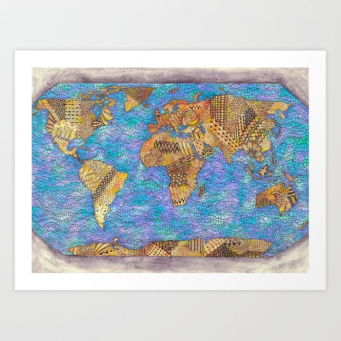 The Whole Wide World Art Print