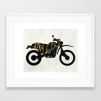 stay gold Framed Art Prints featuring Stay Gold by Ride The Storm