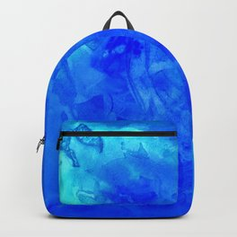 Ice Palace Watercolor Texture Backpack