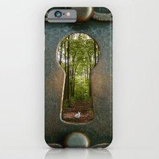 Alice in Wonderland Follow Me iPhone 6 Slim Case