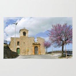 Old Church - Aidone - Sicily  Rug