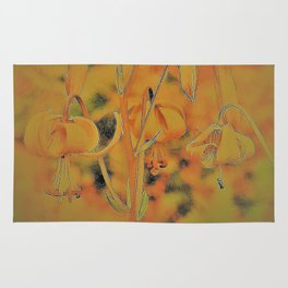 Wild Lily Rug
